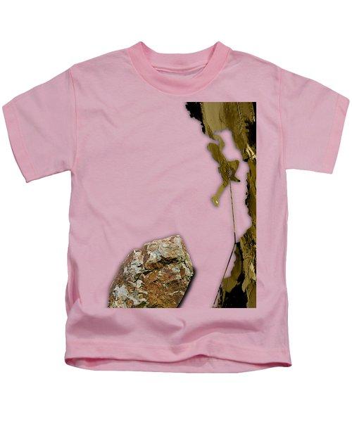 Rock Climber Collection Kids T-Shirt