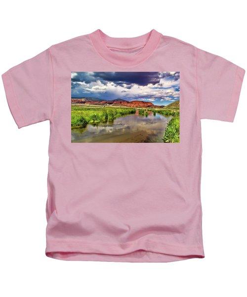 Mountain Lake Kids T-Shirt