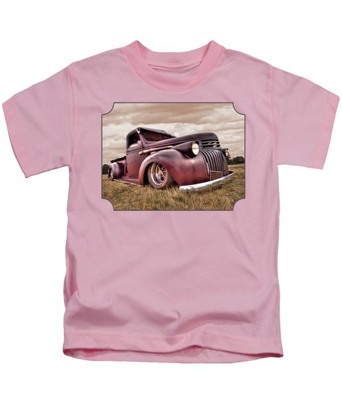 1941 Rusty Chevrolet Kids T-Shirt