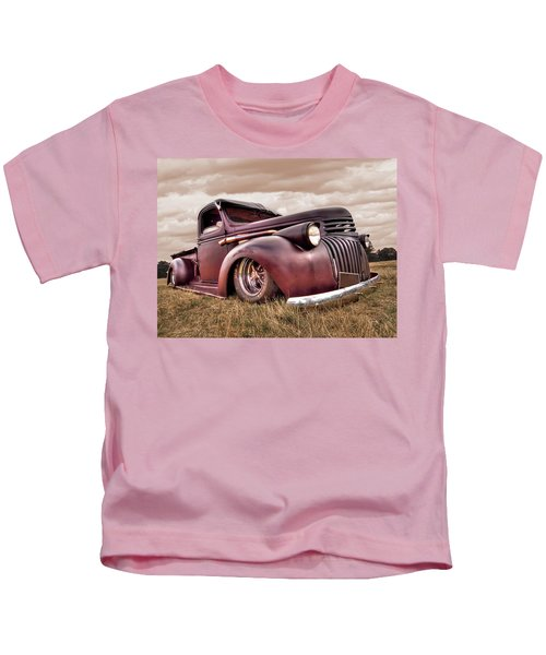 1941 Rusty Chevrolet Kids T-Shirt