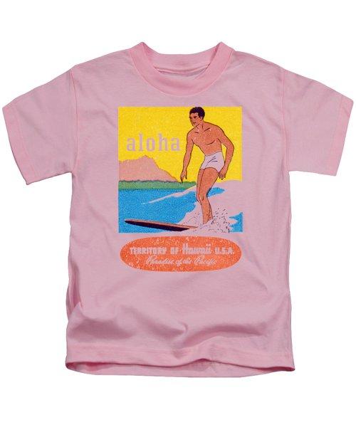 1950 Aloha Hawaii Kids T-Shirt
