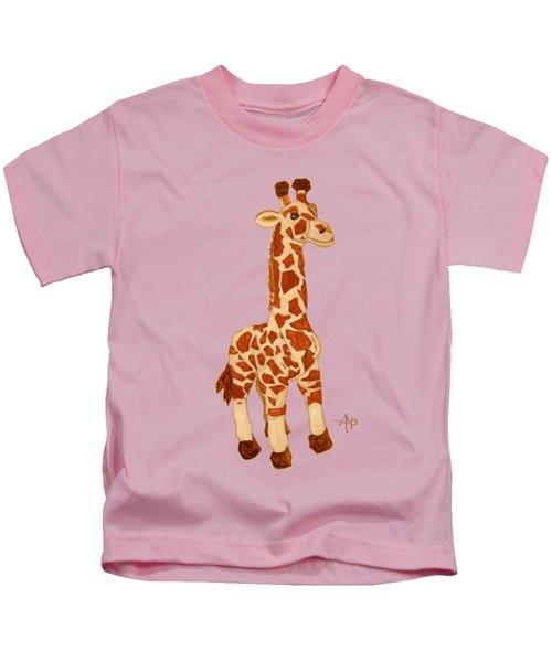 Cuddly Giraffe Kids T-Shirt