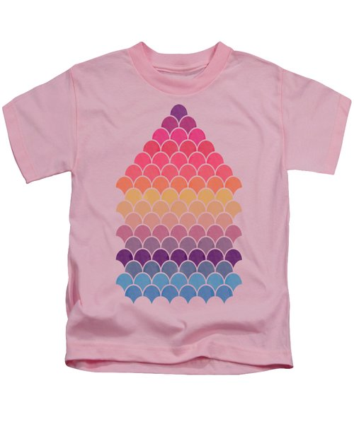 Lovely Pattern Kids T-Shirt by Amir Faysal