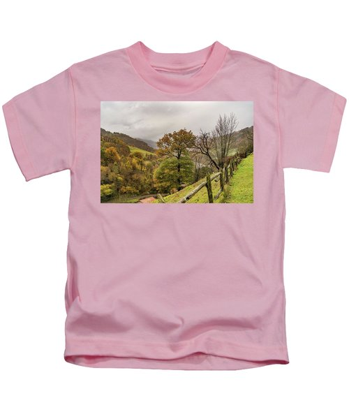 Mountains And Valleys All Around Kids T-Shirt