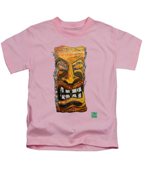 Tiki Art Kids T-Shirt