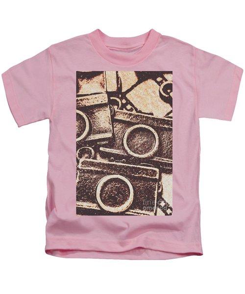 50s Brownie Cameras Kids T-Shirt