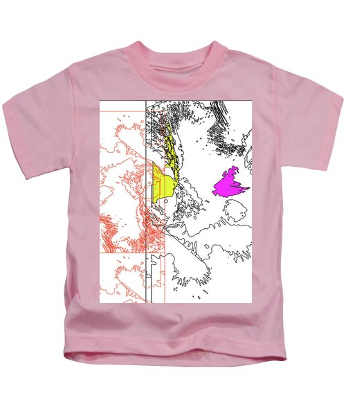 A Map Of Irises Kids T-Shirt