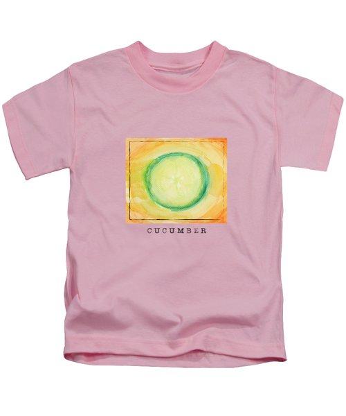 A Piece Of Cucumber Kids T-Shirt