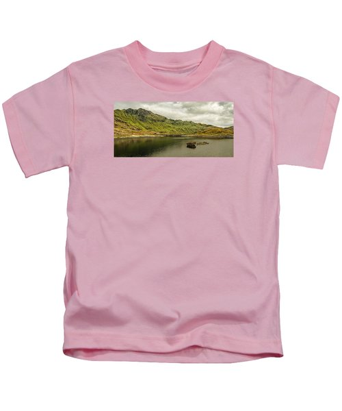 A Rock And A Hard Place Kids T-Shirt
