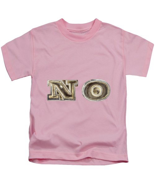 A Simple No Kids T-Shirt