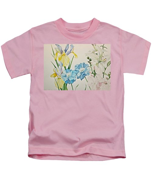 A Variety-posthumously Presented Paintings Of Sachi Spohn  Kids T-Shirt