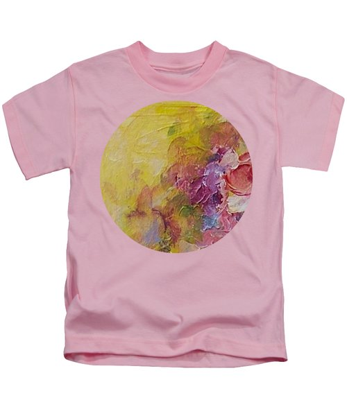 Abstract Impressions- Number 1 Kids T-Shirt