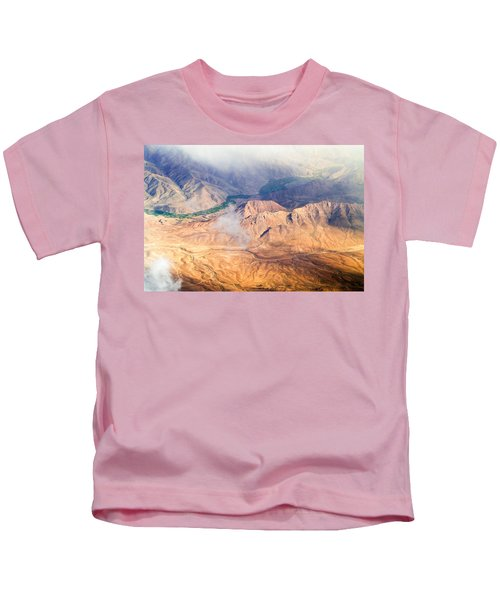 Afghan Valley At Sunrise Kids T-Shirt