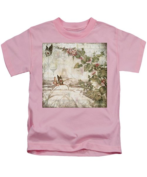 Afternoon In Paris Kids T-Shirt