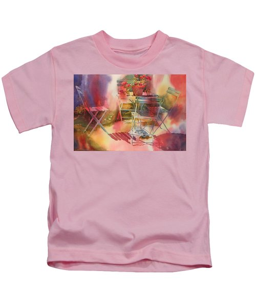 Afternoon Light Giverny, France Kids T-Shirt