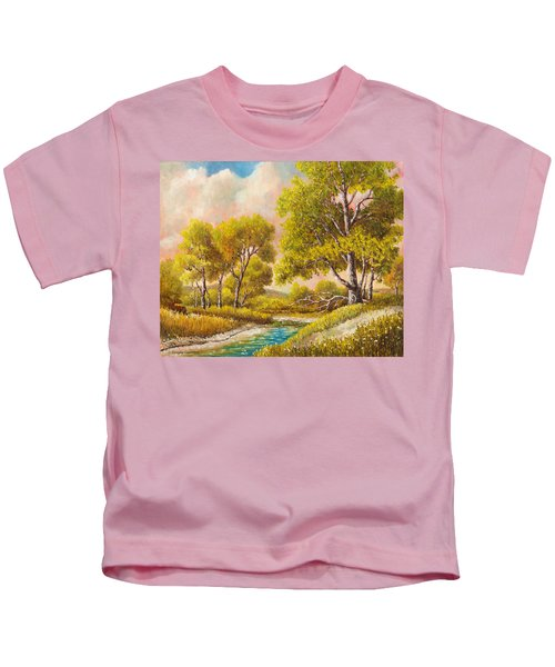 Afternoon Shade Kids T-Shirt