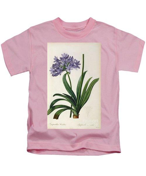 Agapanthus Umbrellatus Kids T-Shirt