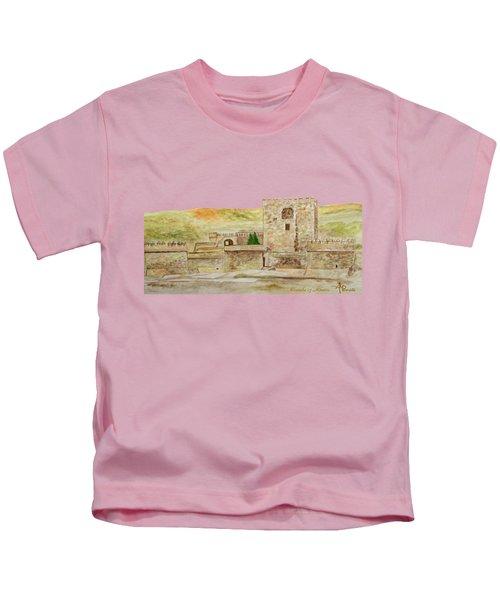 Alcazaba Of Almeria Kids T-Shirt