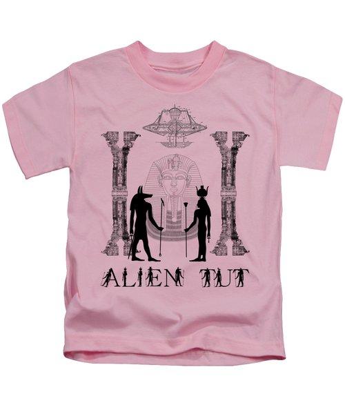 Alien King Tut Kids T-Shirt
