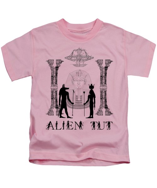 Alien King Tut Kids T-Shirt