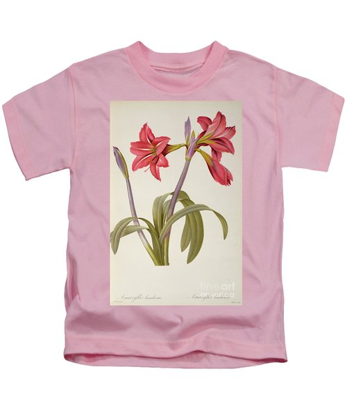 Amaryllis Brasiliensis Kids T-Shirt