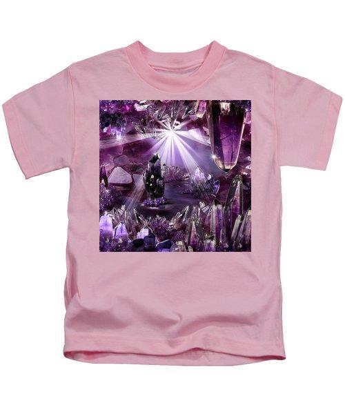 Amethyst Dreams Kids T-Shirt