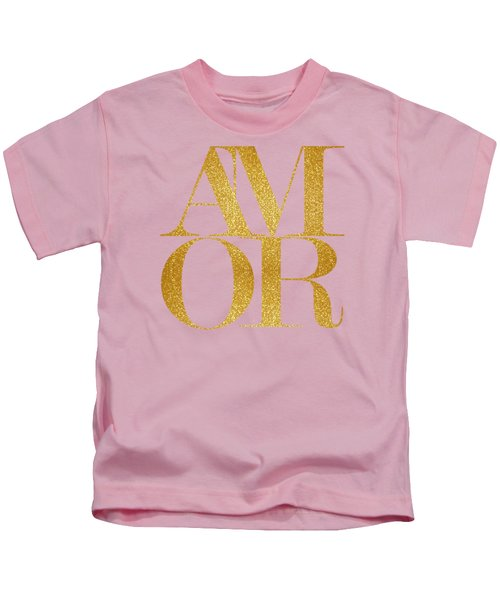 Amor Kids T-Shirt by Liesl Marelli