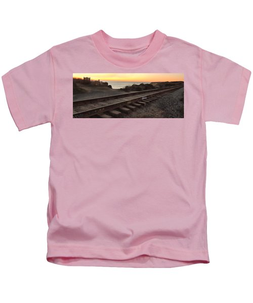 Amtrak On The Pacific Kids T-Shirt