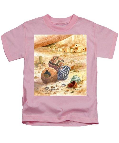 Anasazi Remnants Kids T-Shirt