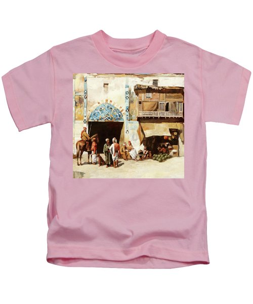 Angurie In Cortile Kids T-Shirt