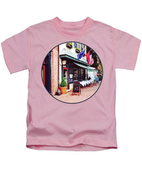 Annapolis Md - Restaurant On State Circle Kids T-Shirt