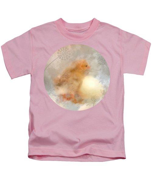 Anticipation  Kids T-Shirt by Anita Faye