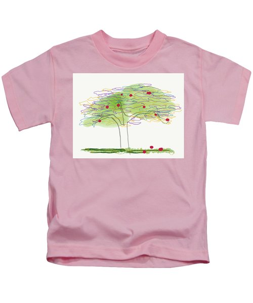 Apple Tree  Kids T-Shirt