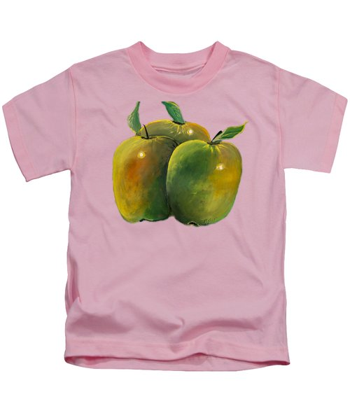 Apple Trio Kids T-Shirt