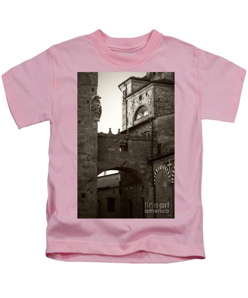 Architecture Of Pistoia Kids T-Shirt