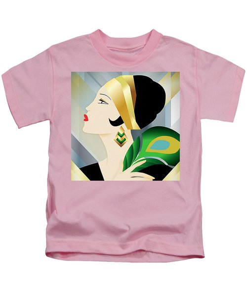 Roaring 20s Flapper Kids T-Shirt