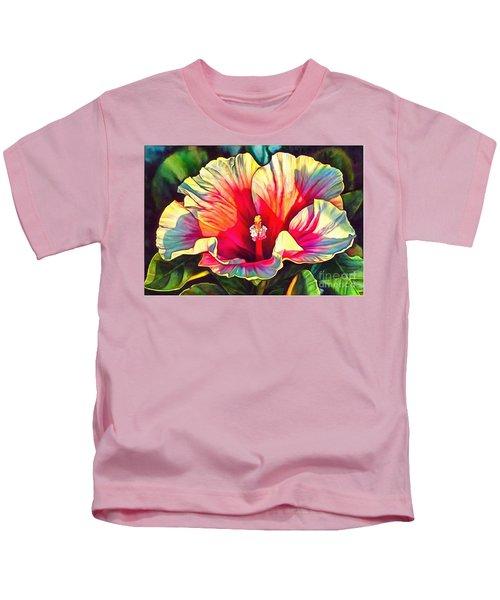 Art Floral Interior Design On Canvas Kids T-Shirt