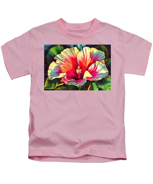 Art Floral Interior Design On Canvas Kids T-Shirt