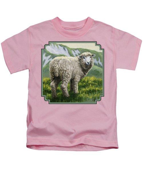 Highland Ewe Kids T-Shirt