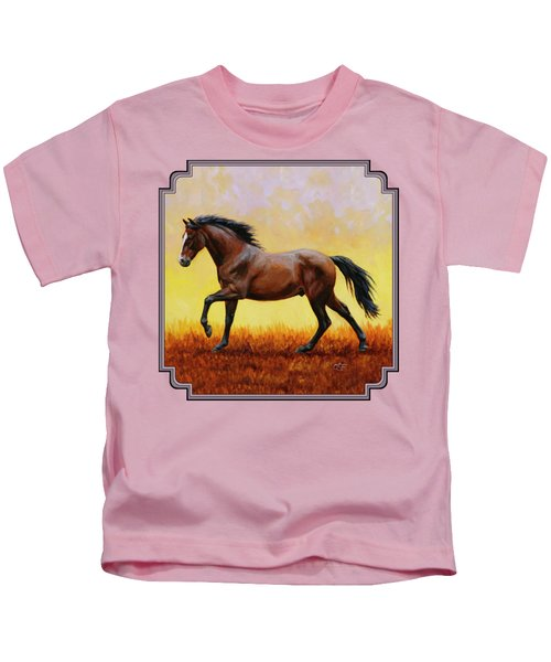 Midnight Sun Kids T-Shirt