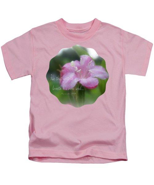 O My Soul - Verse Kids T-Shirt