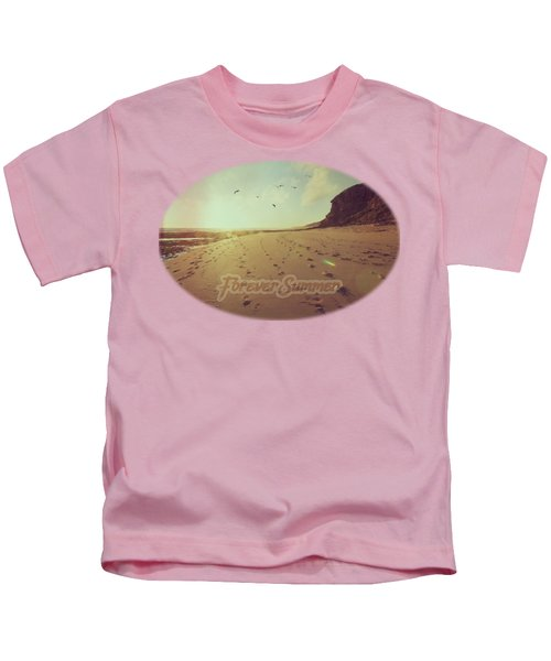 Forever Summer 9 Kids T-Shirt by Linda Lees