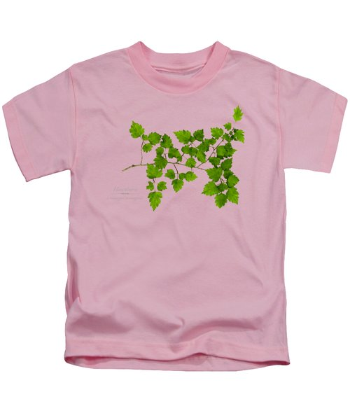 Hawthorn Kids T-Shirt by Christina Rollo