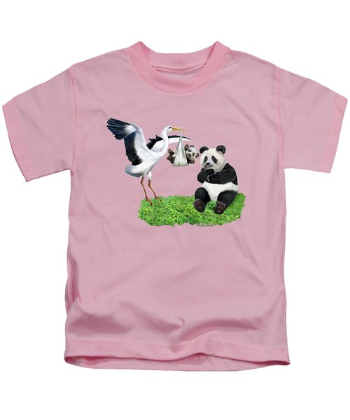 Bundle Of Joy Kids T-Shirt by Glenn Holbrook