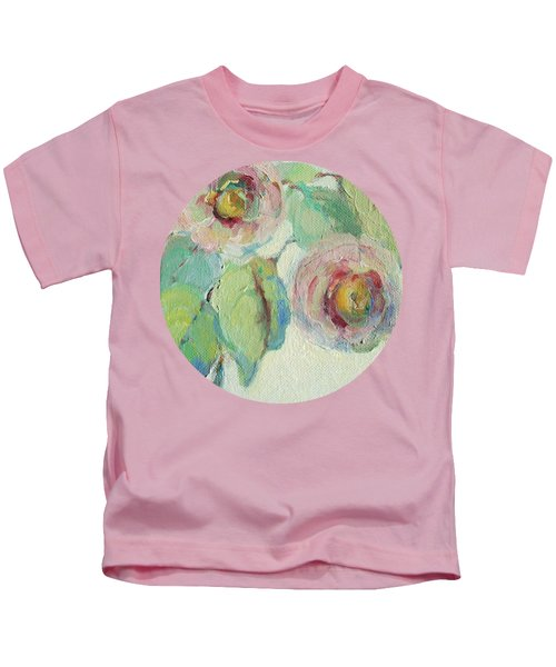 Impressionist Roses  Kids T-Shirt
