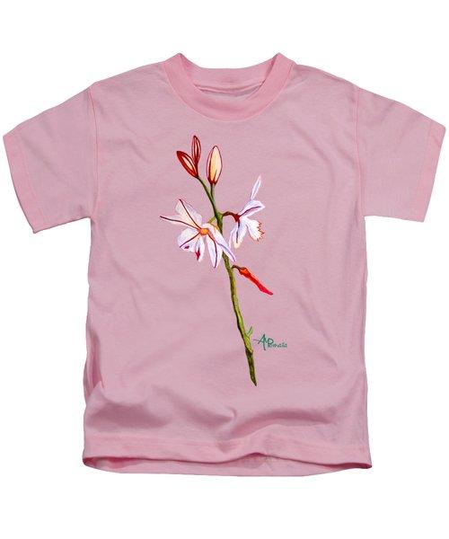 A Single Lily Kids T-Shirt