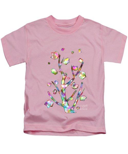 Rainbow Tree Kids T-Shirt