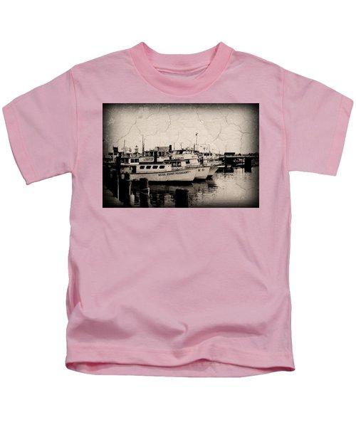 At The Marina - Jersey Shore Kids T-Shirt
