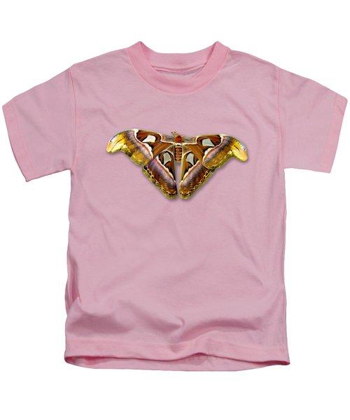 Atlas Moth 2 Sehemu Mbili Unyenyekevu Kids T-Shirt