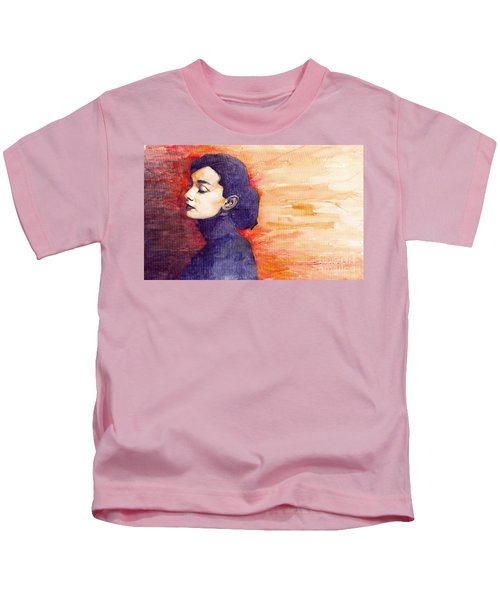 Audrey Hepburn 1 Kids T-Shirt